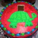 M&M tutle cake