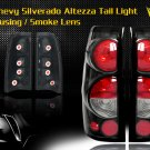 99-06 CHEVY SILVERADO ALTEZZA TAIL LIGHT BLACK/SMOKE