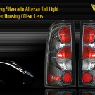 99-06 CHEVY SILVERADO ALTEZZA TAIL LIGHT CARBON FIBER