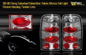 00-06 SUBURBAN/TAHOE/YUKON ALTEZZA TAIL LIGHT SMOKE