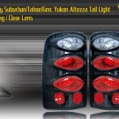 00-06 SUBURBAN/TAHOE/YUKON ALTEZZA TAIL LIGHT BLK/CLEAR