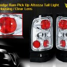 94-01 DODGE RAM ALTEZZA TAIL LIGHT CHROME CLEAR