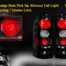 94-01 DODGE RAM ALTEZZA TAIL LIGHT BLACK SMOKE