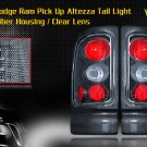 94-01 DODGE RAM ALTEZZA TAIL LIGHT CARBON FIBER