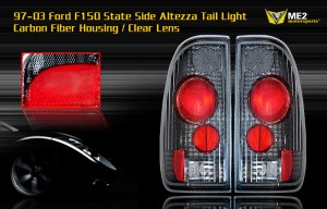 97-03 FORD F150 SIDE ALTEZZA TAIL LIGHT CARBON FIBER