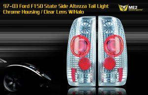 97-03 FORD F150 STATE SIDE ALTEZZA TAIL LIGHT W/ HALO