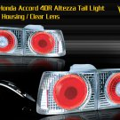 92-93 HONDA ACCORD 4DR ALTEZZA TAIL LIGHT W/ HALO - CHR