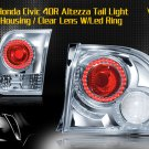 96-98 HONDA CIVIC 4DR ALTEZZA TAIL LIGHT LED RING CLEAR