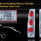 86-97 NISSAN HARDBODY ALTEZZA TAIL LIGHT CHROME CLEAR