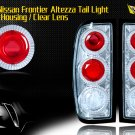 98-04 NISSAN FRONTIER ALTEZZA TAIL LIGHT CHROME CLEAR