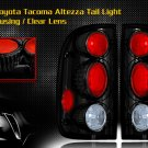01-04 TOYOTA TACOMA ALTEZZA TAIL LIGHT JDM BLACK CLEAR