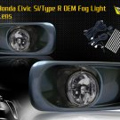99-00 HONDA CIVIC SI/TYPE R JDM FOG LIGHT SMOKE