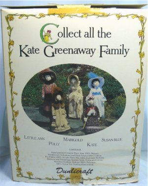 Little Ann, a Kate Greenaway Doll Kit by Dundicraft, to Make for Yourself or a Gift