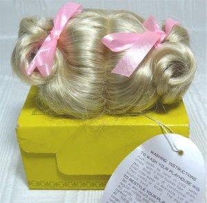 Playhouse Doll Wig:  Spring, Sz 9.5, Pale Blonde, NIB