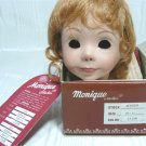 "Monique ""Jessica"" Doll Wig:  Sz 12-13, Light Ginger, NIB"