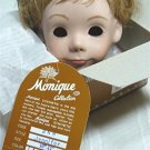 "Monique Doll Wig ""Jennifer"":  Sz 10-11, Light Strawberry Blonde, NIB"