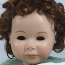 Auburn Tallina's Doll Wig:  Sz 14, All Over Curls for a Cute Doll
