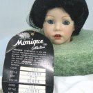 "***Monique Doll Wig #265:  ""Johnny"" Sz 8-9, Black Smooth Style"
