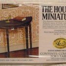 House of Miniatures' Kit:  Hepplewhite Side Table, NOS, NIB, for You to Make
