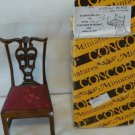 Single Side Chair, Beautiful Back, Concord Miniatures, NOS, NIB