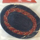 Town Square Miniatures' Braided Rug, Area Rug Size for Dollhouse, NIP, NOS