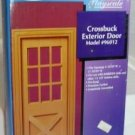 Houseworks Crossbuck Exterior Door, Playscale 1:6/Fashion Doll Component,NOS/NIB