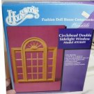 **Houseworks Circlehead Double Sidelight Window, Playscale 1:6, NIB/NOS