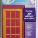 *****Houseworks Twelve Light Window, Model #95024, Playscale 1:6, NIB/NOS