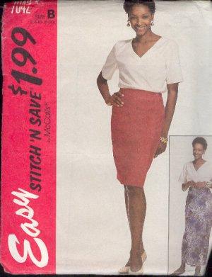 reversible wrap skirt instructions