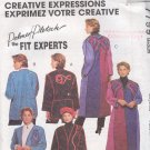 McCall's Sewing Pattern 7799 Palmer Pletsch Fancy Jacket & Coat, Size 12 14