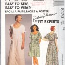 McCall's Sewing Pattern 8170 Dress in two lengths, Size 24