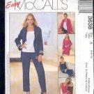 McCall's Sewing Pattern 3638 Petite Dress, Jacket, Top, Shorts Size 6 8 10