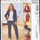 McCall's Sewing Pattern 3638 Jacket, Top, Dress, Pant, Shorts, Size 10 - 14