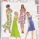 McCall's Sewing Pattern M4444 by Laura Ashley, Pretty summer frock with variations size 8 - 14