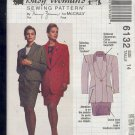 McCall's Sewing Pattern 6132 by Nancy Zieman, Tailored Suit, Size 14