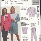 McCall's Sewing Pattern 6400 by Nancy Zeiman, Jacket, Top, Pants, Shorts, Size 20 - 24