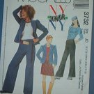 McCall's Sewing  Pattern 3732 Girl's pant, jacket (unlinled) stretch knit top, Size 3 - 10