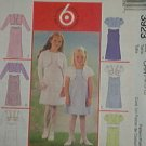 McCall's Sewing Pattern 3923 Girl's Dress with lined jacket and variations, Size 10 12 14