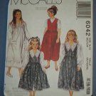 McCall's Sewing Pattern 6042 Dress Jumper Size 8 - 10