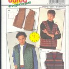 Burda Sewing Pattern 3916 Unisex vest, Size 44 - 58 chest