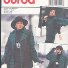 Burda Sewing Pattern 4142 Big Jacket and Long Vest, Size 10 - 20