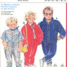 Burda Sewing Pattern 6069 Boy's Jacket and pants, Size 34 - 50 inches tall