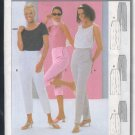 Burda Sewing Pattern 8996 Three styles of basic pants, Size 8-20
