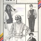 Stretch & Sew Sewing Pattern 1004 Action Pullover and Jacket, Bust size 30 - 46