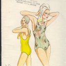 Kwik Sew Sewing Pattern 810 Swim Suit Sizes 8 10 12