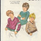 Kwik Sew Sewing Pattern 1032 & 1031 Boy's Pullover shirt with neck and hem variations, Size 7 8 10