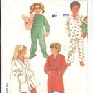 Simplicity Sewing Pattern 7199 Robe and Pajamas, footed too, size  3