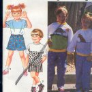Simplicity Sewing Pattern 7535 Pullover Shirt, Pants and Shorts, Size 5 - 6X