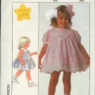 Simplicity Sewing Pattern 8992 Pretty Little Girl's Dress Size 2
