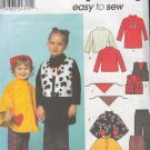 Simplicity Sewing Pattern 9414 Girl's Pant, Top, Vest, Cape and Bandana, Size 6 mos. -2 Yrs.